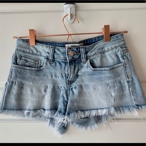 Victoria Secret PINK light denim shorts